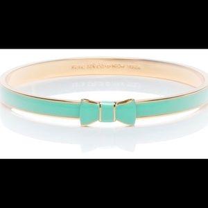 Late Spade Mint Enameled Bracelet